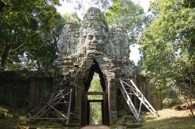 west entrance of Angkor Thom