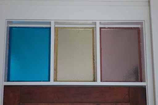 Window over interior front door