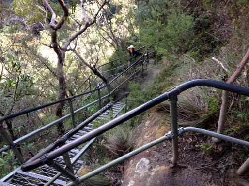 trip to Blue Mountains, National Pass Hike from Wentworth Falls