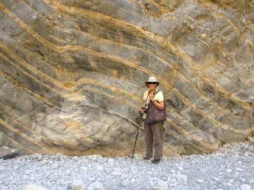 Geologic layering