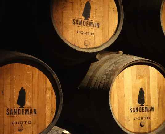 Sandeman's logo is the Don, dressed in Spanish sombrero and Portuguese cape.
