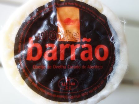 We picked up this Portuguese cheese in our local food market and crossed our fingers it would work on our homemade burritos.  It was good!