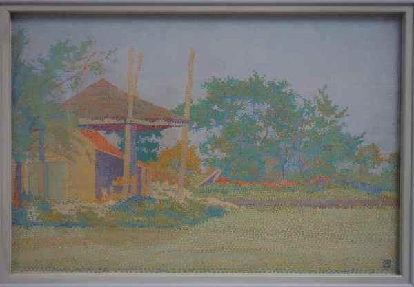 "Landscape with haystack"", Jan Vijlbrief, 1894"