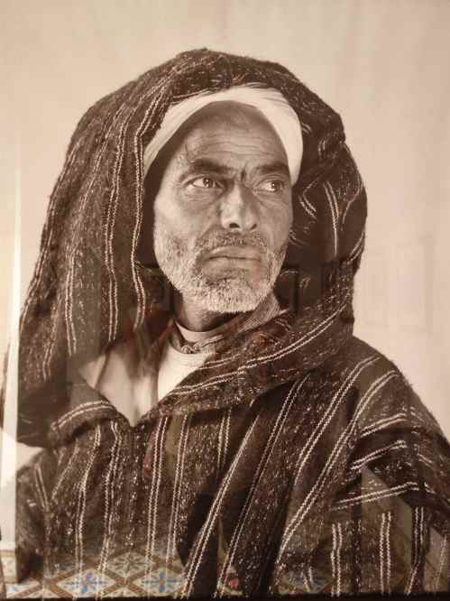 """""""Portrait of a man, Tangier"""", Nicholas Muller, 1942"""