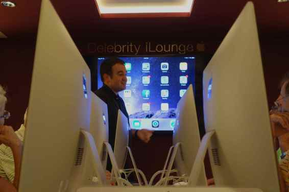 We became avid followers of Richard's iLounge lectures and workshops. Always knowledgeable and funny, Richard taught us new tricks for iPhones, iPad and MacBooks.