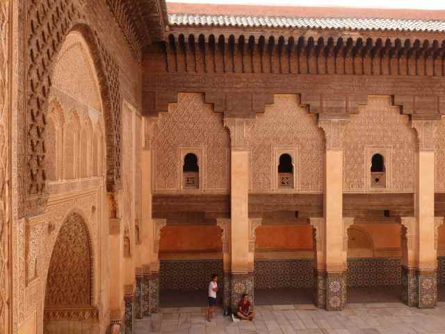 Medersa Ben Youseff in Marrakech, Morocco