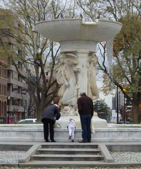 Our stop was Dupont Circle.