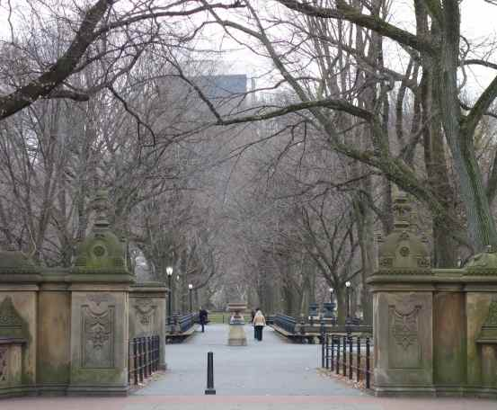 Now in NYC, we walked again – this time through Central Park.