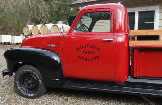 The perfect vineyard truck