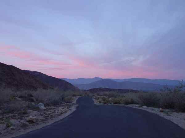 One last photo before getting in the car and leaving Anza-Borrego at 5:40 pm.