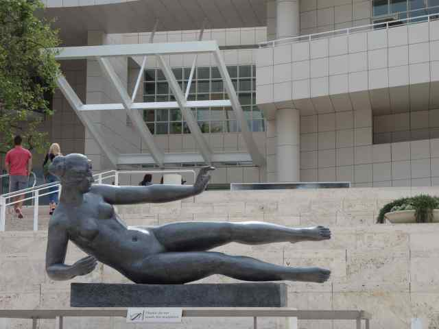 """We knew right away we'd seen this beautiful reclining figure before…"""""""