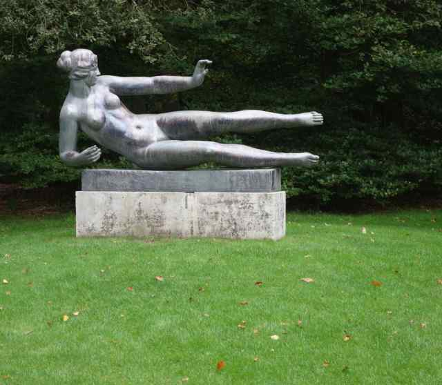 Six months ago we gazed upon her at the Kröller-Müller Museum in the Netherlands. (She gets around as much as we do.)