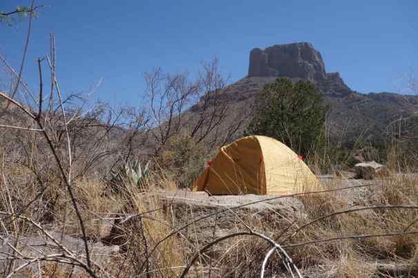 A great place to camp: Big Bend National Park, Texas