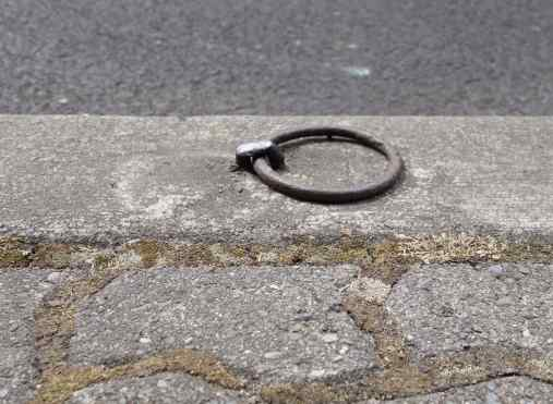 Horse rings on curb stones for tethering horses from days gone by are still preserved throughout the city. We were told that a movement was started to tether small model horses to the rings – and we did look for the little horses, but never saw one.