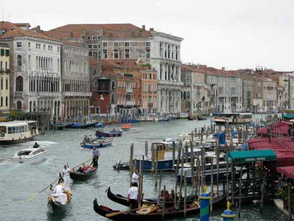 Venice, a UNESCO World Heritage Site, floods about 100 days a year. Rising sea levels may threaten the city. We chose a dry month for our visit.