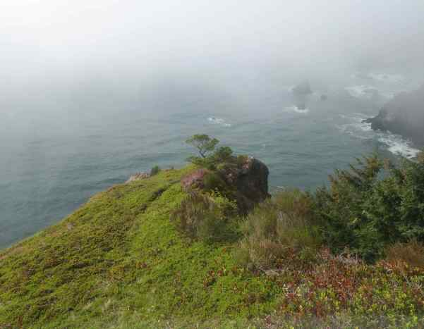 Our visit was on a foggy and very windy day which may be regular weather for that area. Thus, the name.