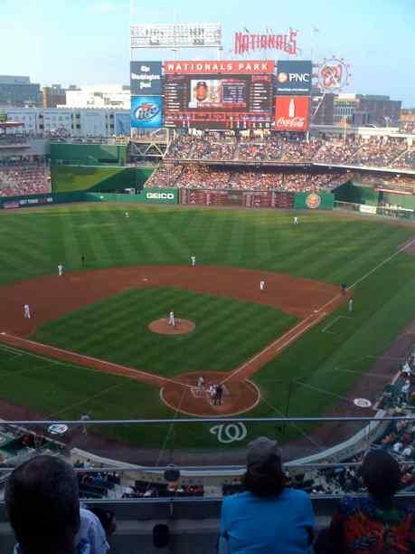 Washington, DC - National Park - 2008; seating capacity 41,418