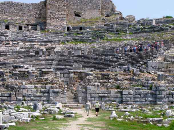 Miletus, Turkey – built as a Greek Theatre in the 4th Century B.C., seating capacity 15,000