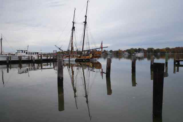 MARYLAND – Chestertown. A dock on the Chester River
