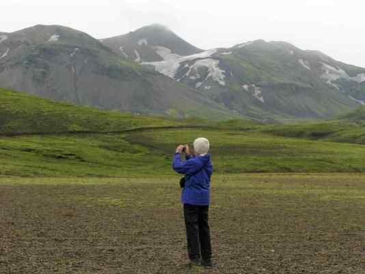 Between Landmannalaugar and Þórsmörk, Iceland