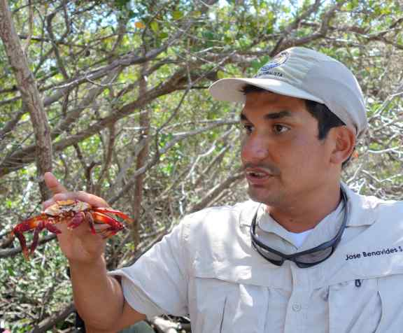 Our guide, Jose, explained the context to better understand the ecology of the islands.