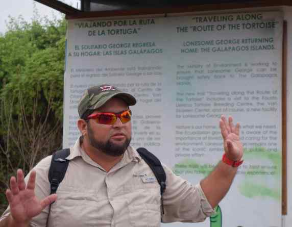 Our guide, Ivan, did more than name what we were seeing, he gave us information.