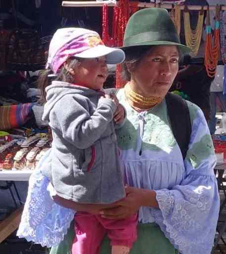 We traveled up to Otavalo for the indigenous market. While we waited for our pie at a little café, we snapped some photos of activity on the street.