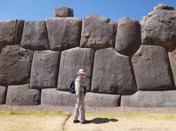 For the most part, the enormous stones are all that is left of Sacsahuayman's extensive complex.