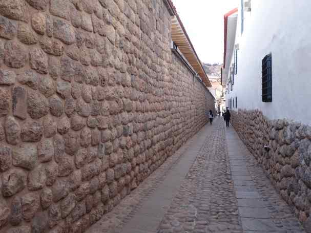 Cusco is an old city, and when you walk it, it's easy to discover old byways that haven't changed in centuries.