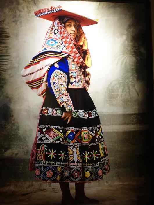 We thought Testino's most stunning works in the museum were of the Peruvian women in traditional clothing.