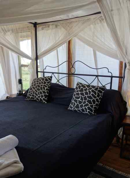We stayed at Maramboi Tented Lodge near the shore of Lake Manyara in this little cottage.